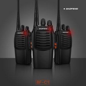 DVIJE toki-voki kanalne radio stanice sa slušalicama BAOFENG